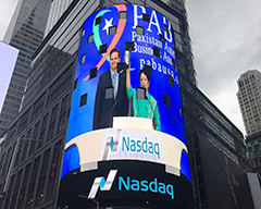 Nasdaq Celebrates Independence Day of Pakistan