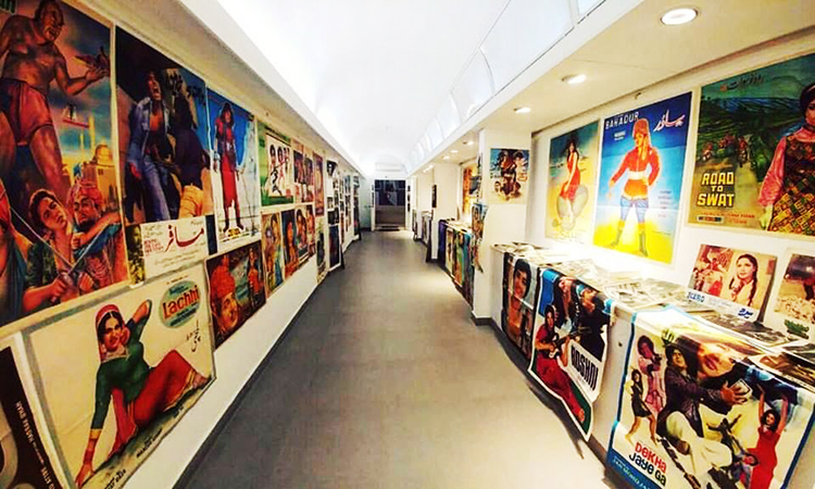 An exhibition by VM Art Gallery at the Pakistan Calling Film Festival - Pakistan Calling Film Festival