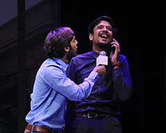 Play 'Aesay Hi Chalta Hai' at the NAPA International Theatre and Music Festival
