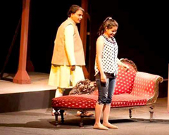 Play Daddy at NAPA international Theatre Festival 2015 Karachi