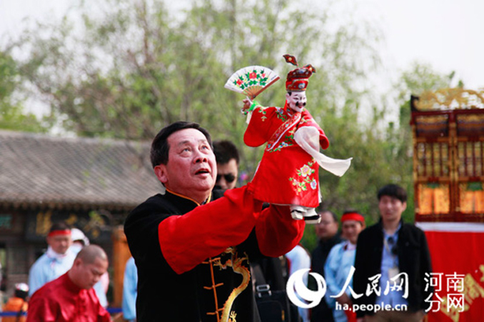 Puppetry in China