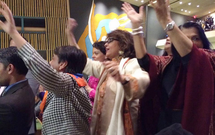 Rahat Fateh Ali Khan Rocks the UN General Assembly on Pakistan Day, 23 March 2016
