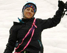 Samina Baig's journey to the top of Mount Everest