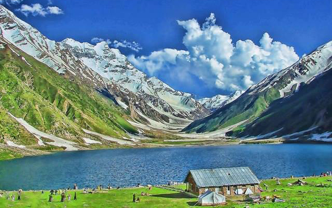 Silk Road Route: Naran Valley
