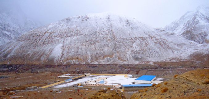 Arial view of Sust Dry Port - Silk Road: Sost and the Chapursan Valley