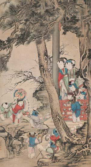 The Spring Festival in Ancient Chinese Paintings