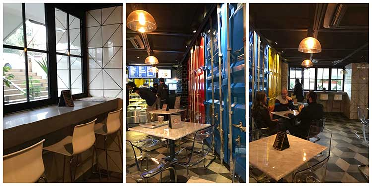 Street Burger, Islamabad: The trendy interior