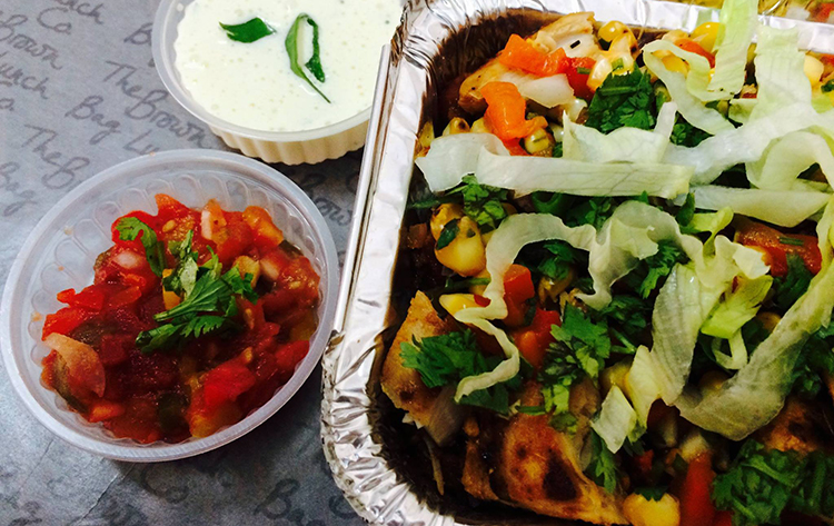 The mouth-watering Chicken Burrito Bowl - The Brown Bag Lunch
