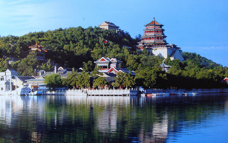 The Garden of Clear Ripples Summer Palace in China