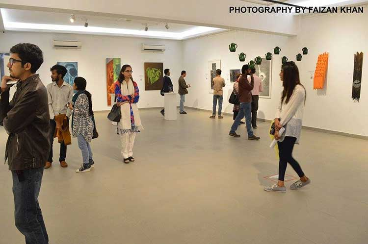 The Highway Exhibition at VM Art Gallery, Karachi