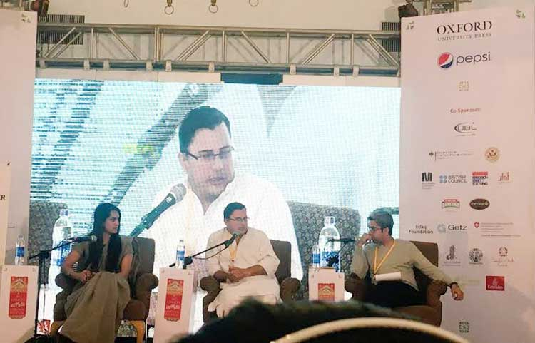Launch of 'The Party Worker' at KLF 2017 - The Party Worker by Omar Shahid Hamid
