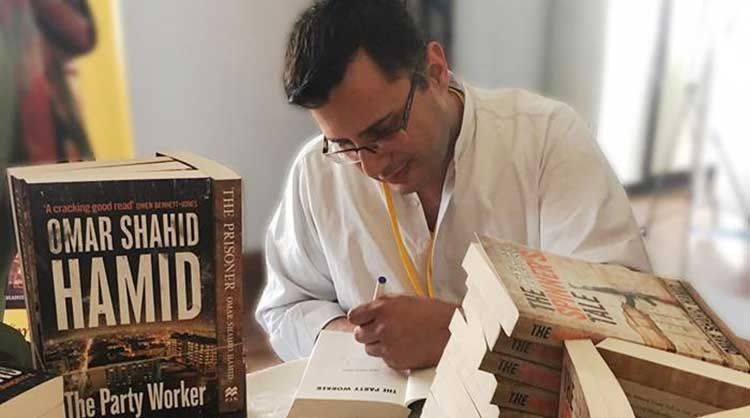 'The Party Worker' is Omar Shahid Hamid's third novel (source: Geo TV) - The Party Worker by Omar Shahid Hamid