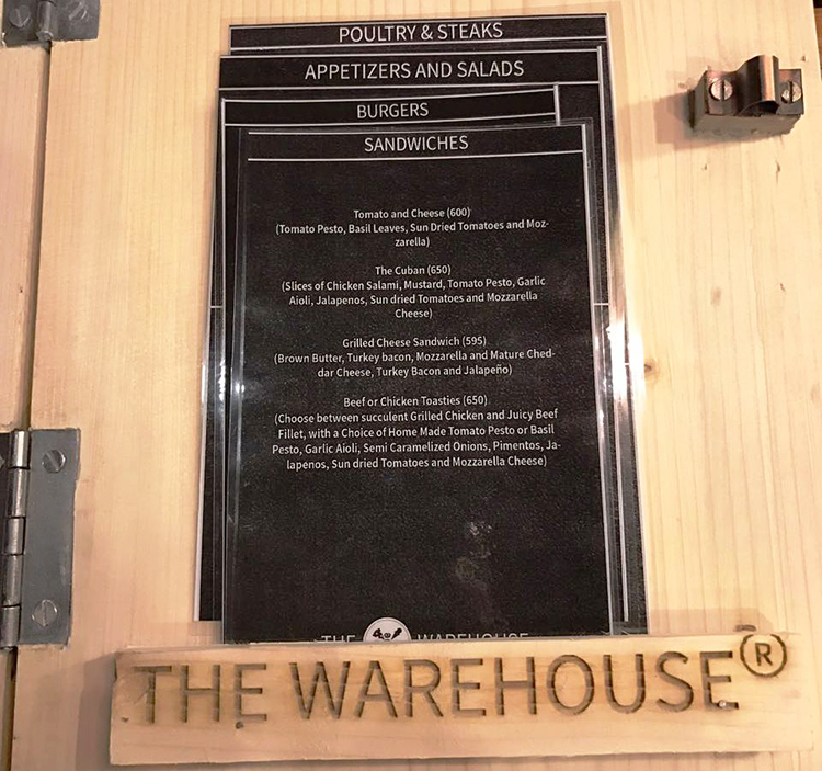 The Warehouse, Islamabad