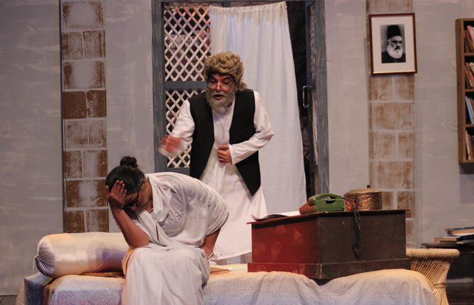 - THEATER REVIEW: HAAF PLAYT, A LACKLUSTER PRODUCTION