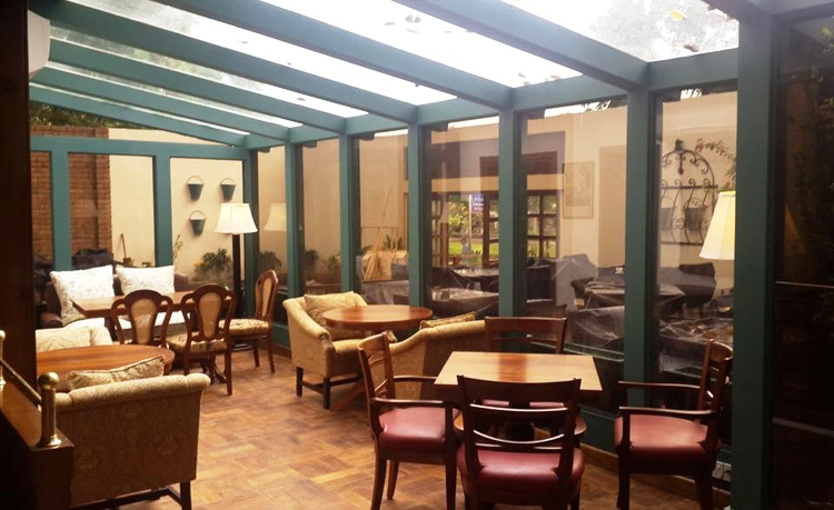 Indoors Seating Area of Tiffany's Restaurant, Islamabad