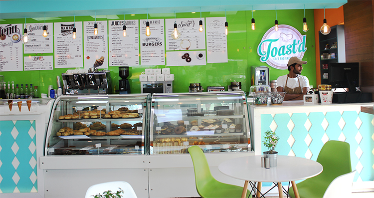 Toast'd Cafe and Bakery, F-7 Markaz, Islamabad