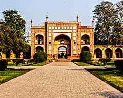 The Tombs of Jahangir and Nur Jahan