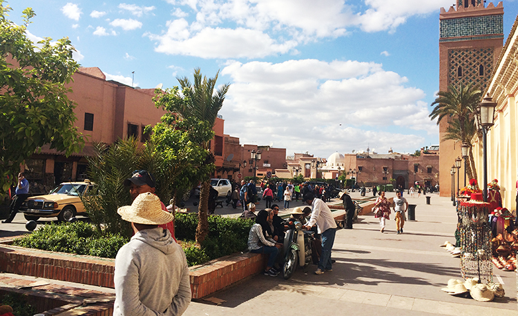 Place Moulay El Yazid - Travel to Marrakech: Moorish and French Eras