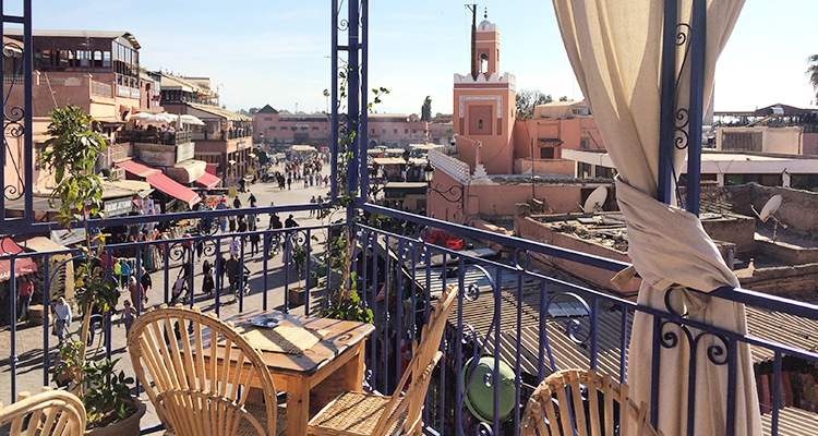 Cafe Kessabine - Travel to Marrakech, Morocco