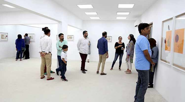VM Art Gallery and Sanat Art Gallery, Karachi