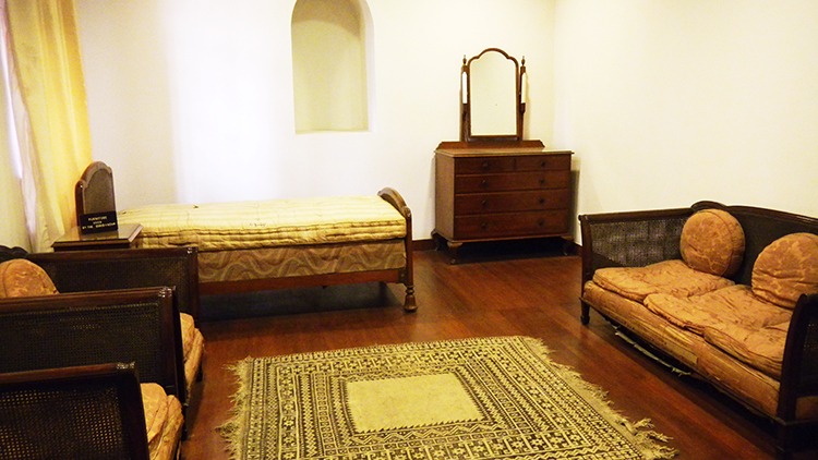 Antique furniture that belonged to the Quaid - Wazir Mansion Karachi - The Birthplace of Quaid-e-Azam