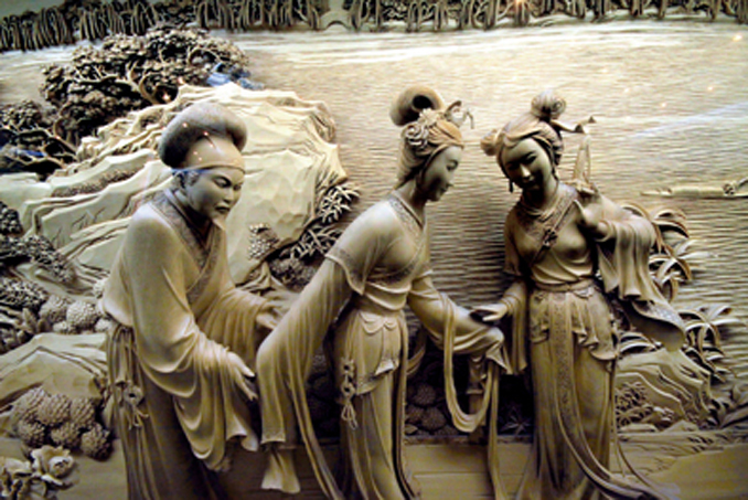 - WOODCARVING ARTS IN CHINA
