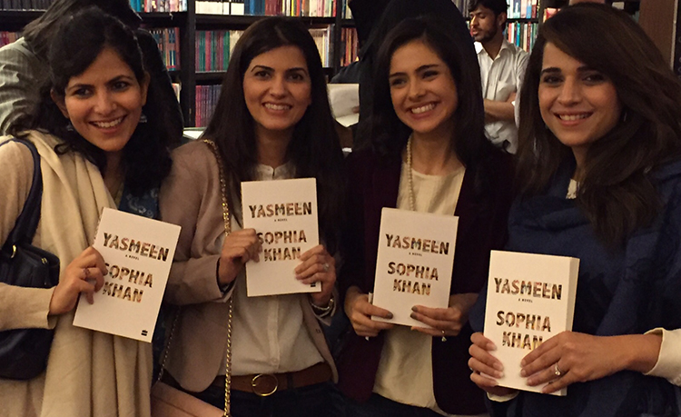 Book launch of Yasmeen in Islamabad