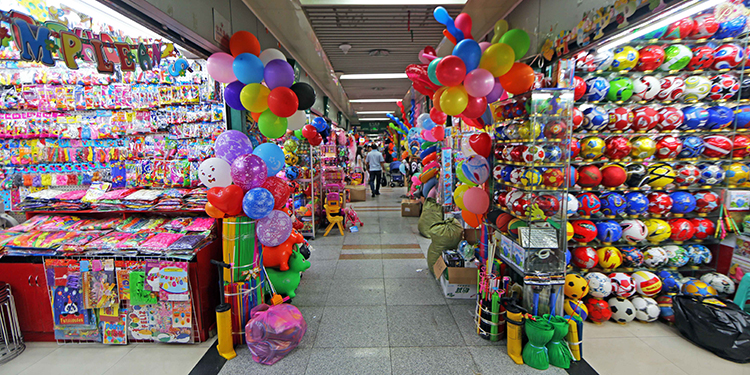 Inside the Yiwu Small Commodity Market