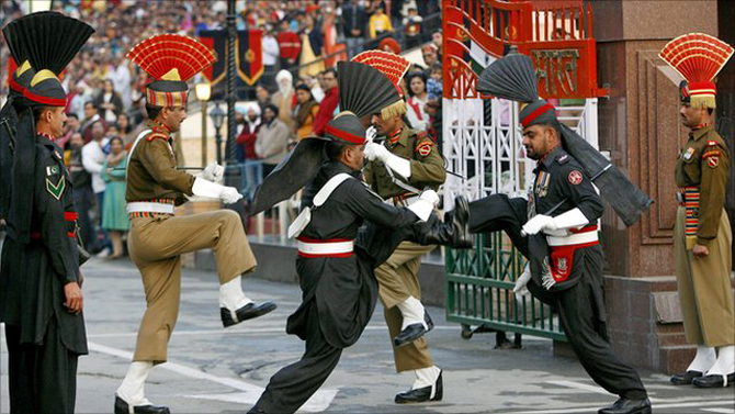DANCE OF THE PEACOCKS - WAGHA BORDER