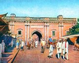 Delhi (Dilli) Darwaza of Androon Lahore