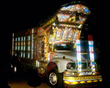 Truck Art and Embroideries in Quetta, Baluchistan