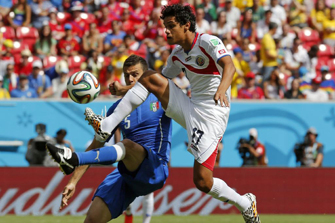 Spain & Costa Rica: The stories of the World Cup so far