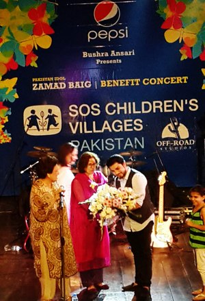 Zamad Baig at the Alhamra: Pakistan Idol sings for Benefit