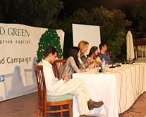 Set the Stage to Talk and Walk Green