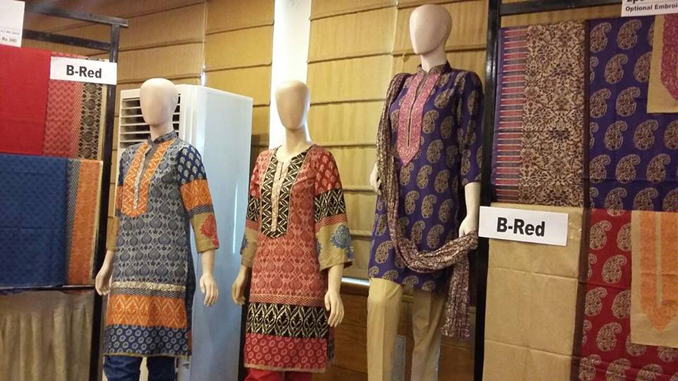 Clothes Exhibition by Yahsir Waheed at Pearl Continental Hotel, Karachi