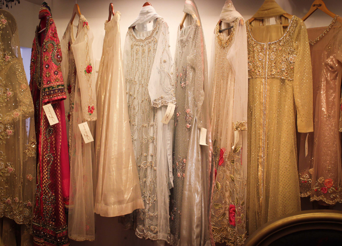 Exhibition Review: Farida Hasan's Formal Wear Collection Lands at L'atelier