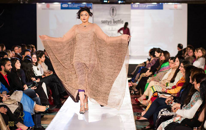 Fashion Show: Sonya Battla Launches Manora in Islamabad