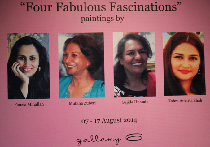 'Four Fabulous Fascinations'