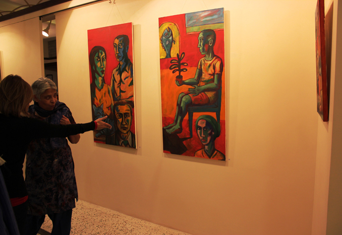 Khaas Gallery Exhibition: Moeen Faruqi's Paintings