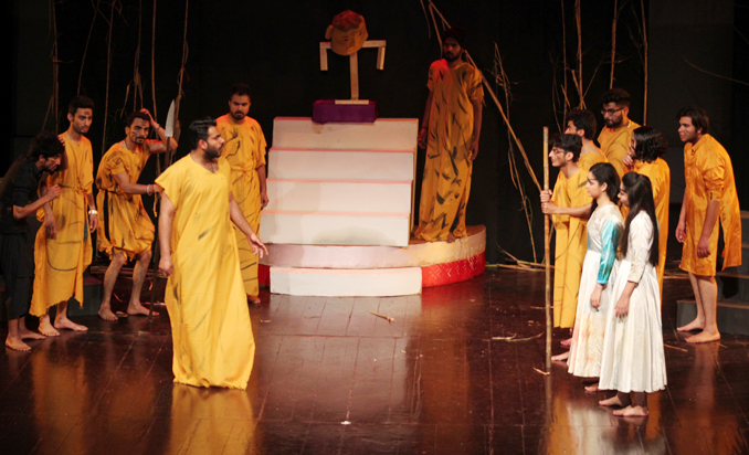 Youth Drama Festival 2015 Day 3: Play Devta by Preston University