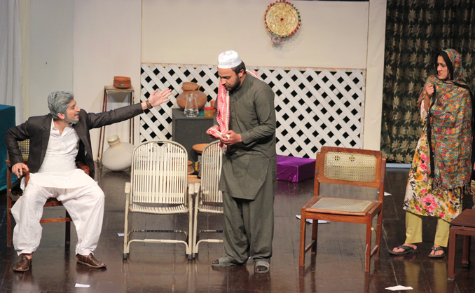 Youth Drama Festival 2015: Play 'Meri Kahani' by Quaid-i-Azam University