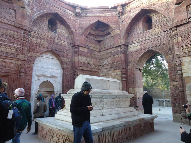 The grave of Iltutmish