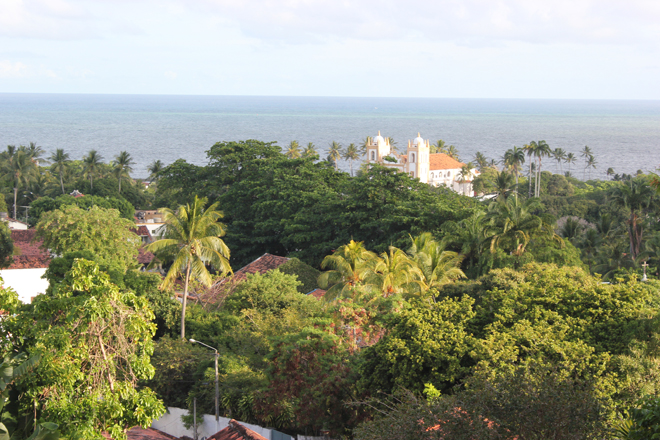 View from Olinda