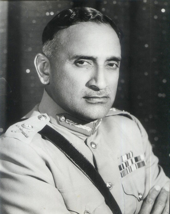 Lt Gen. Atiq-ur-Rehman, Governor West Pakistan