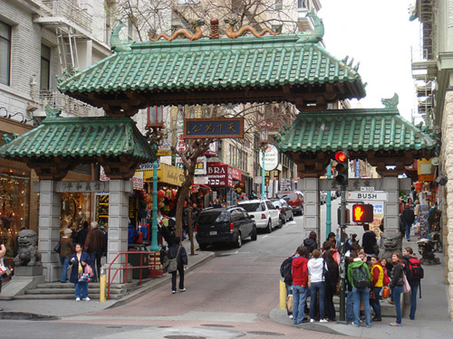 Scenes From China Town