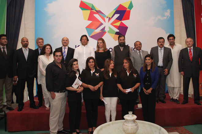 KKAWF team with supporters