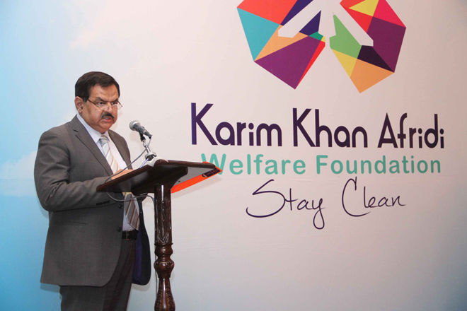 Major General Jaffery (retd), Vice Chairman of the Foundation