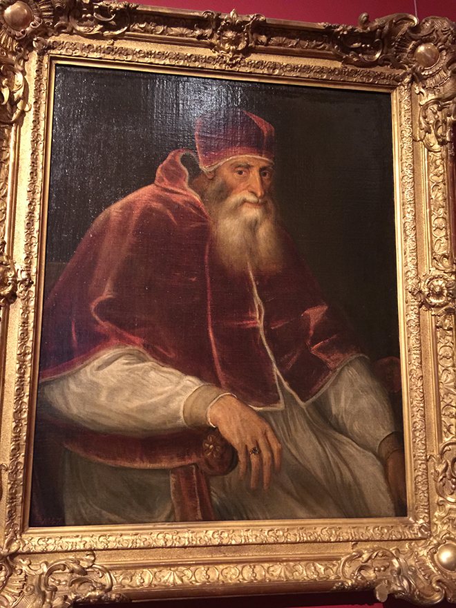 Titian's portrait of Pope Paul III
