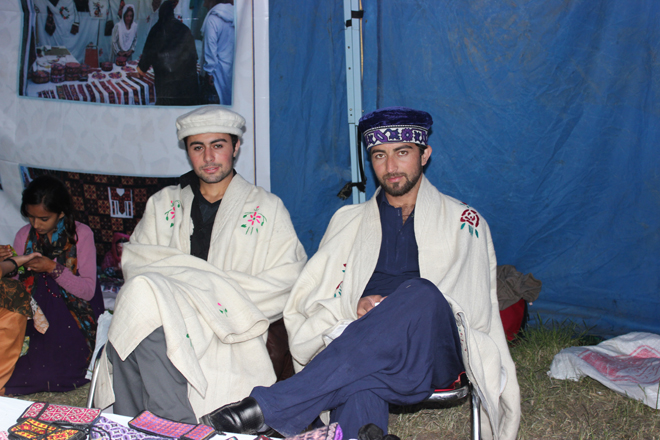 Youth of Gilgit Baltistan in Traditional Garb