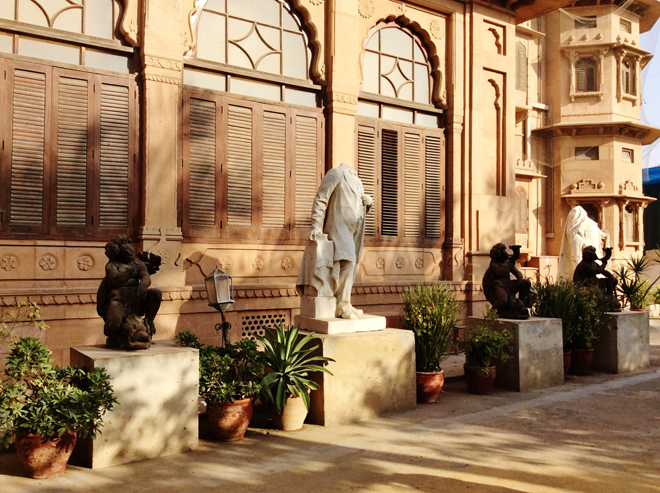Architecture of Mohatta Palace Museum